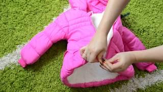 видео Куртка демисезонная на девочку