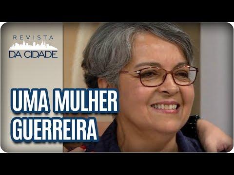Homenagem à Sandrinha No Dia Internacional Da Mulher - Revista Da Cidade (08/03/18)