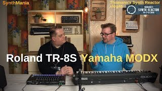 Thomann's Synth Reactor vlog#6 - Yamaha MODX & Roland TR-8S #TSR19