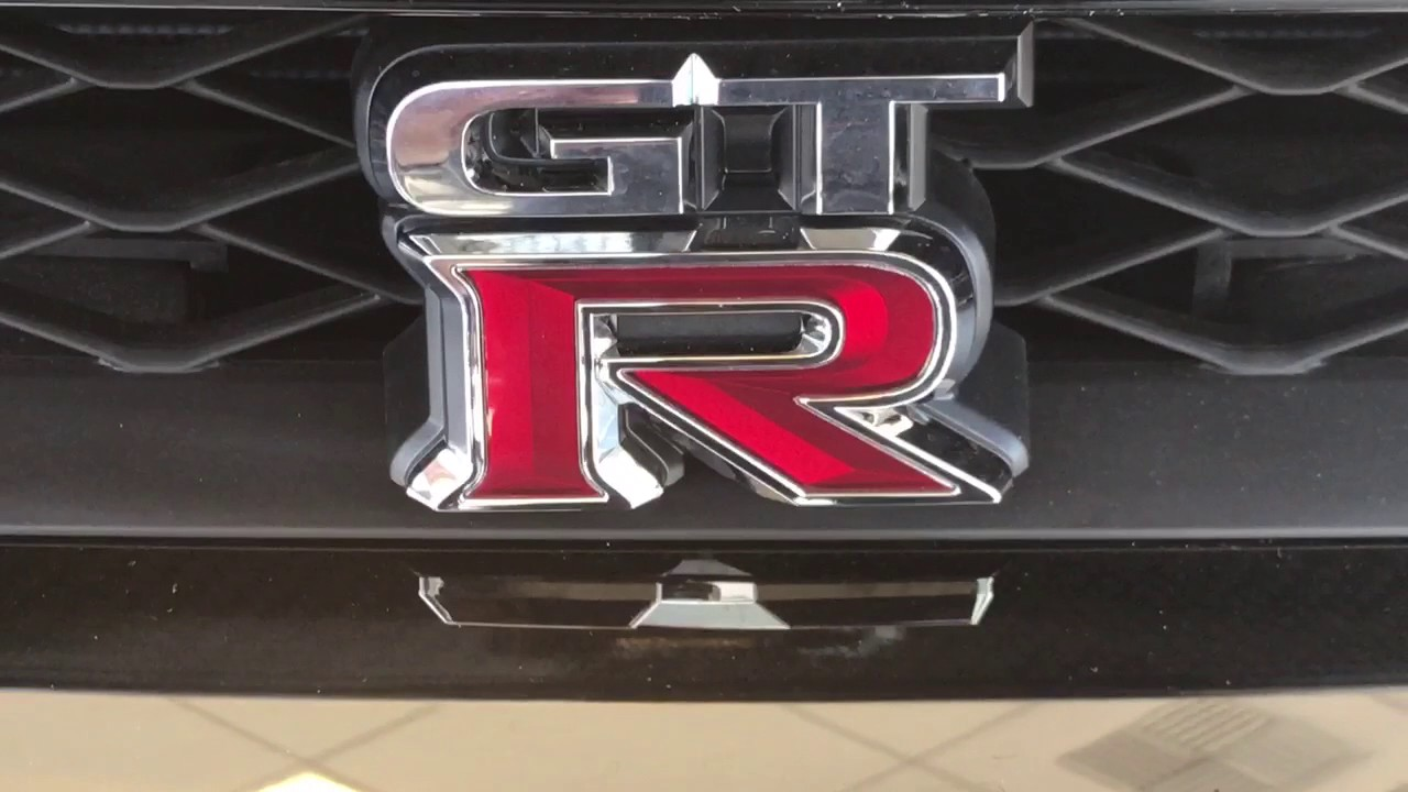 Nissan Gtr Logo Japanese Made Street Race Car Youtube
