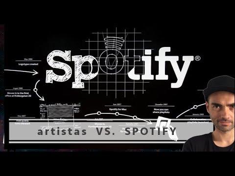 Artistas que no están en Spotify y por qué
