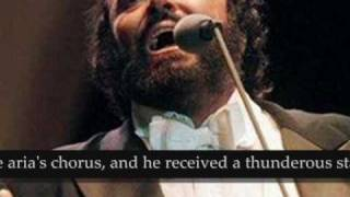 Luciano Pavarotti Jeff Beck-Caruso