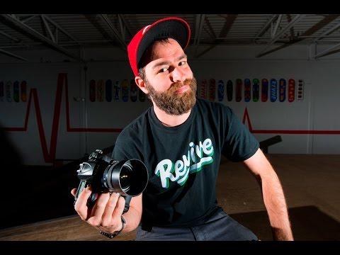 HOW I SHOOT A SKATEBOARDING ACTION PHOTO!
