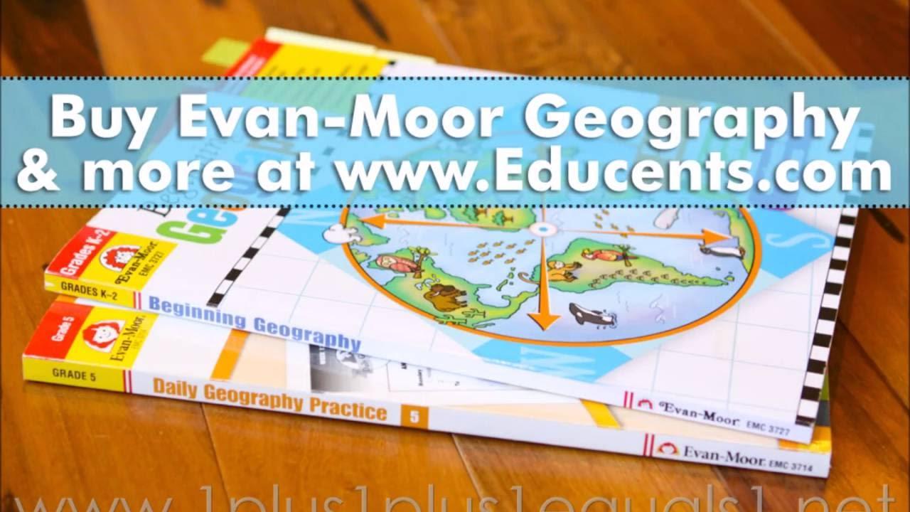 Evan-Moor Geography Book Review