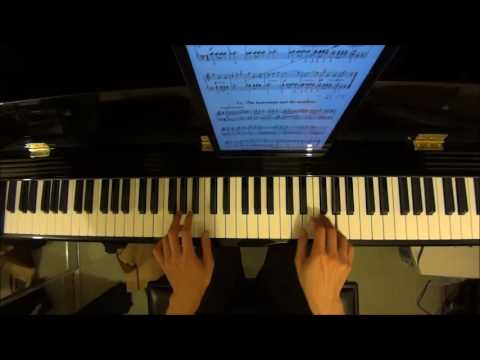 ABRSM Piano 2017-2018 Grade 1 C:5 C5 Eben Huntsman and Maidens from 52 Czech Folk Tunes by Alan
