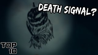 Top 10 Scary SIGNALS From The Sky