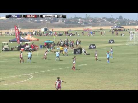 2016 ECNL Playoffs: PDA vs. Slammers - U18 - Field 18 - 10am