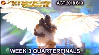 Zurcaroh SIMON SAYS BEST GROUP PERFORMANCE QUARTERFINALS 3 America's Got Talent 2018 AGT