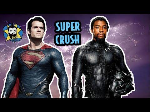HERÓIS mais GALÃS do cinema: do Pantera Negra ao Superman | Galãs Feios