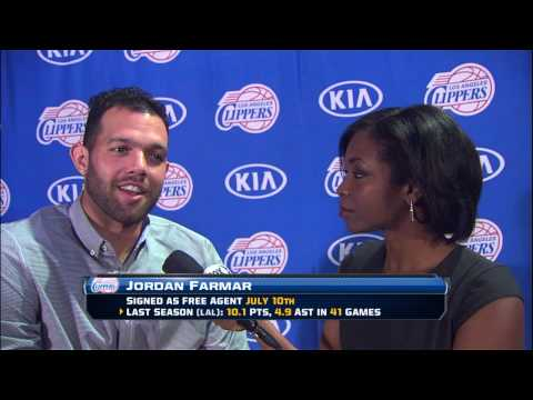 Clippers Fan Festival Interview: Jordan Farmar