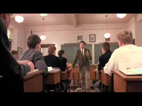 """""""Words and ideas can change the world"""" from Dead Poets' Society"""