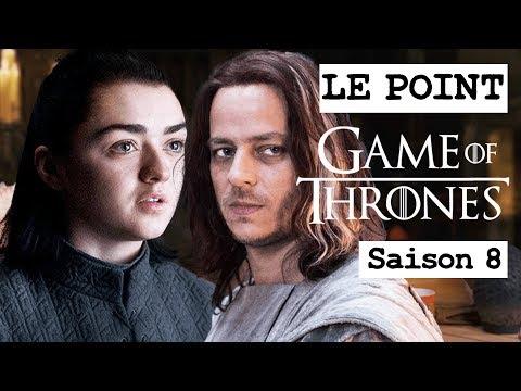 GAME OF THRONES SAISON 8 : NEWS ET FOCUS SUR ARYA ET JAQEN H'GHAR ! LE POINT GOT #10