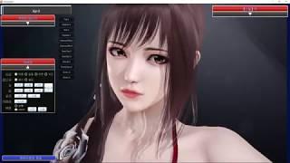 [Illusion HoneySelect Customization] . April (Self-made character)