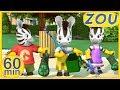 ¡NUEVOS! Zou en español 🔨 ZOU DE SERVICIO  🗝 60 min RECOPILACIÓN   Dibujos animados