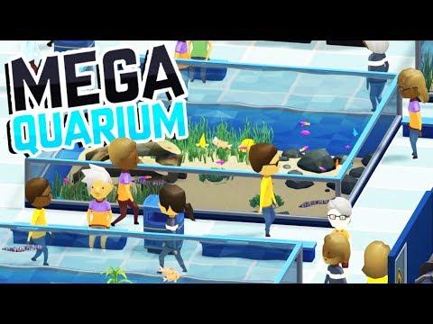 Building The BEST AQUARIUM EVER! - Megaquarium Gameplay