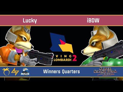 Saving Mr. Lombardi 2 - Lucky (Fox) VS IBDW (Fox) - SSBM - Winners Quarters