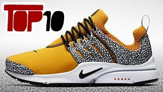 Top 10 Nike Air Presto Shoes of 2017