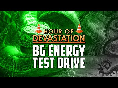 Test Drive Rotation Proof GB Energy Hour of Devastation Standard | MTGO Stream