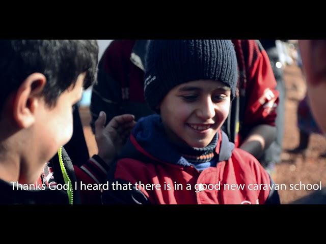 استطاع أحمد و 1300 طفل آخرين الإلتحاق بالتعليم.. حملة مدرستي معي بريف إدلب