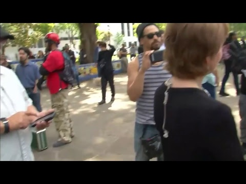 LIVE: Berkeley, CA Rally for Ann Coulter