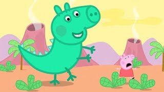 Peppa Pig Full Episodes - George the Dinosaur!#073 thumbnail