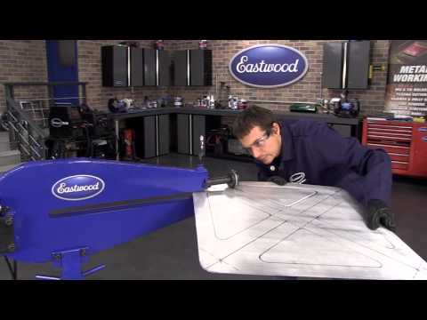 How To Use a Motorized Bead Roller to Make a Floor Pan - Eastwood