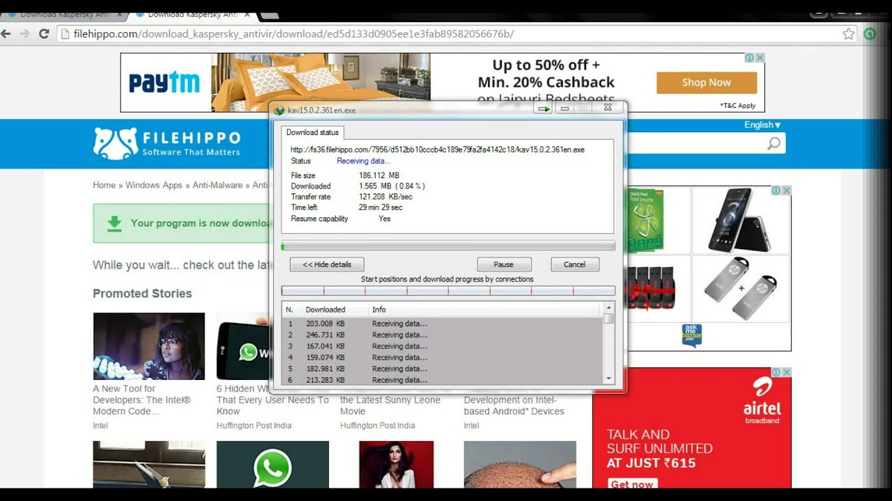 kaspersky antivirus free download full version filehippo