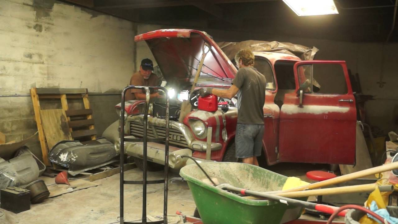 270 6 Cyl Gmc Engine For Sale 1957 Gmc Fire Up Youtube