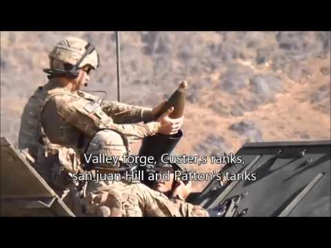 """US Military Song """"The Army Goes Rolling Along"""""""