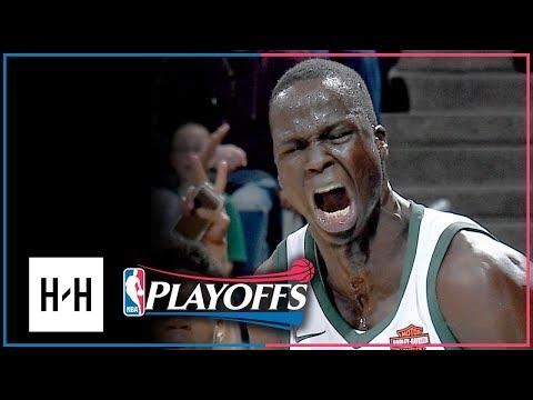 Thon Maker Full Game 3 Highlights Bucks vs Celtics 2018 Playoffs - 14 Pts, 5 Blocks!