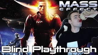 Mass Effect Blind Playthrough Part 1 (Let's Play Walkthrough Gameplay Reaction)