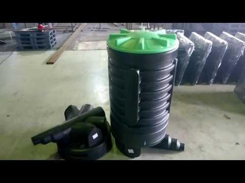 Колодцы канализационные пластиковые RODLEX