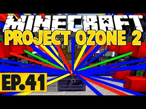 Minecraft Project Ozone 2 Titan Mode - Resonant Jetpack! #41 [Modded Questing Skyblock]