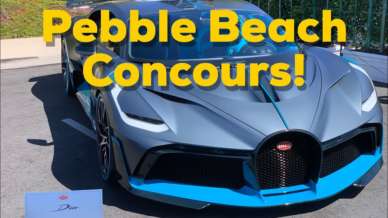 Unbelievable Cars at the 2019 Pebble Beach Concours D'Elegance!