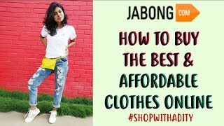 How to SHOP the BEST & AFFORDABLE Clothes on Jabong - Jabong Shopping Guide|AdityIyer #SHOPWITHADITY