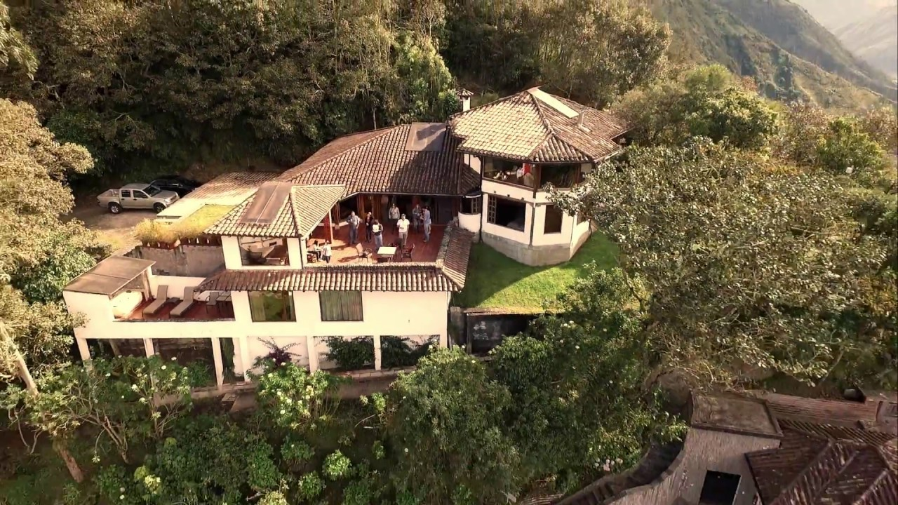 Hotel in Baños, Ecuador - Luna Runtun, Adventure SPA - YouTube