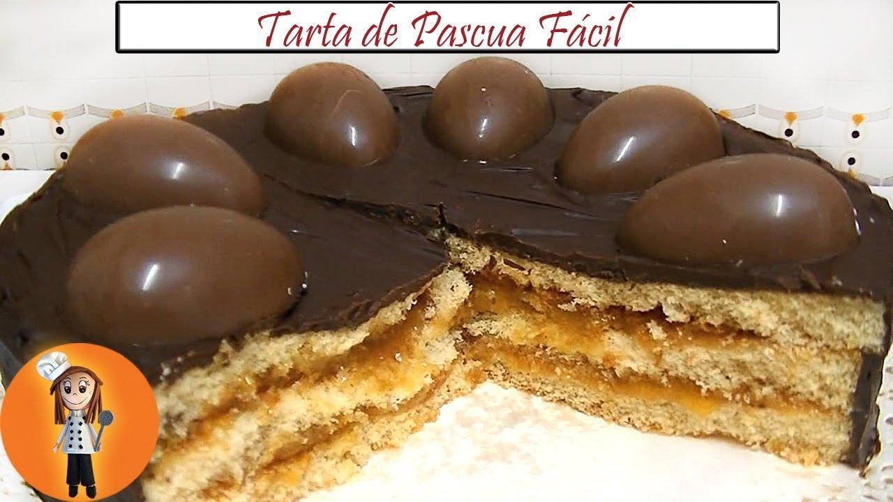 Tarta De Pascua Fácil Receta De Cocina En Familia Youtube