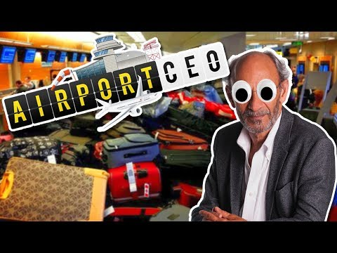 BAGGAGE CONVEYOR BELT HELL! Airport CEO - New tycoon game for 2017!