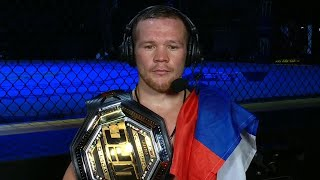 UFC 251: Petr Yan Post-fight Interview