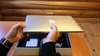 Розпакування MacBook Pro 13 2014-ого року