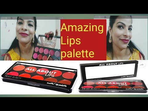 इससे अच्छा 💞इससे सस्ता Lips 💋 palette नहीं मिलेगा // #Beautiful //affordable lips 💋💋 palette 💞