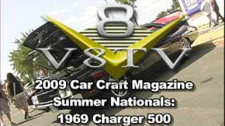 Car Craft Summer Nats: 1969 Dodge Charger 500 - V8TV-Video