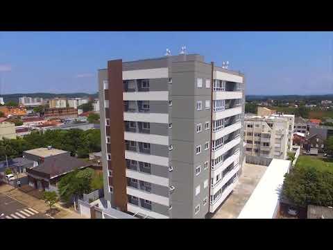Apartamento NOVO, 3 dormitórios (1 suíte), 2 vagas, centro de Dois Irmãos, RS