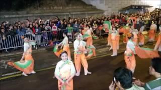 保良局董玉娣中學隊伍在新春花車熱身派對現場表演片段精彩重溫!