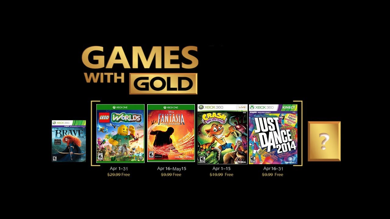 Games For Gold For April 2018 Xbox One 360 Predictions