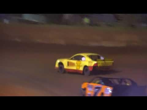 Jay hot laps Moulton Speedway 4.13.18