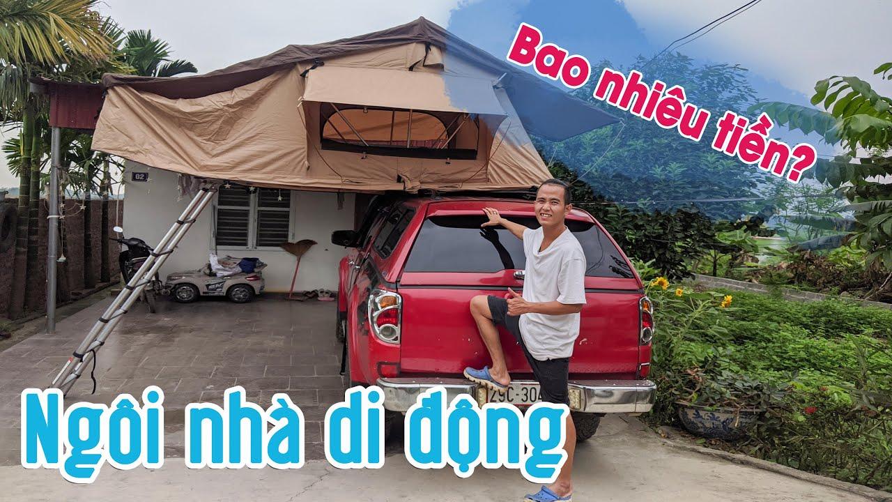 Cận cảnh chiếc lều nóc của vlogger Tùng Nếm - Bí kíp xuyên Việt có thể ngủ bất cứ đâu