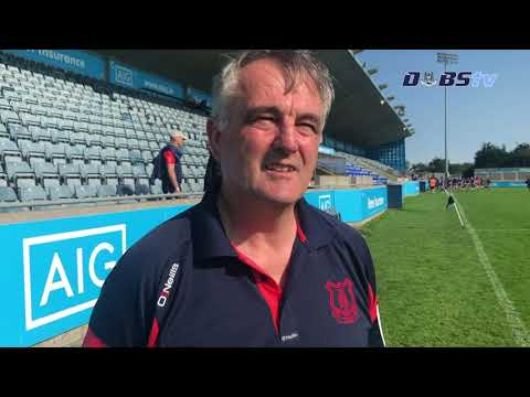 Cuala selector Gerry Killion speaks to DubsTV after Dublin Senior 2 Semi Final win