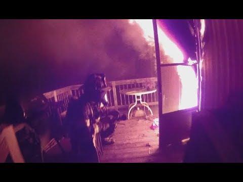 Helmet Cam Fire In A Dwelling Greensville Co. VA
