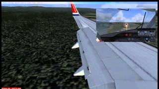 Flight Simulator X - Norwegian Air Shuttle - Landing in Oslo (Gardermoen)